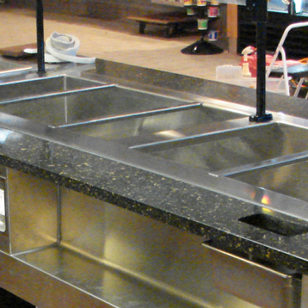 food service & restaurant counter